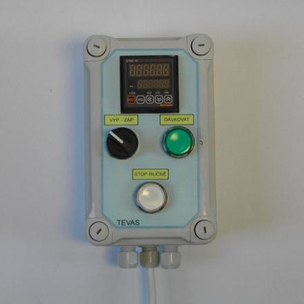Vyhodnocovací jednotka TDS-01 v základním provedení.