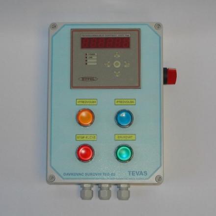 Vyhodnocovací jednotka TDS-02.